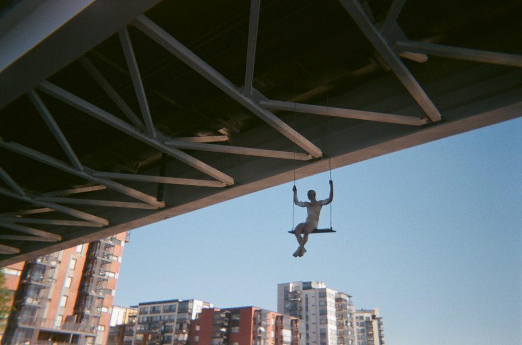 artikkelin kuvistuskuva Kuokkalan sillasta.